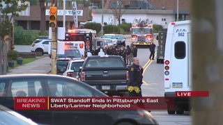 Man arrested after SWAT standoff in East Liberty