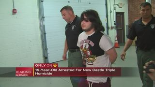 19-year-old arrested for New Castle triple homicide
