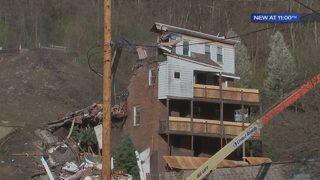 Residents displaced by Route 30 landslide claim belongings are missing