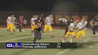 Skylights Week 8: Greensburg-Salem vs Thomas Jefferson