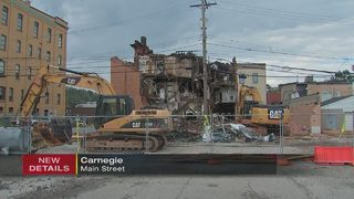 Family restaurant torn down months after deadly fire