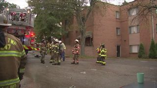 Second fire breaks out within hours at same apartment building