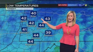 Showers in the forecast for Tuesday