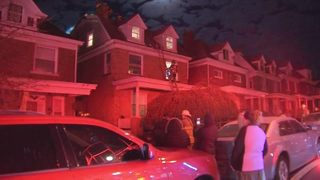 Firefighters battle flames at Knoxville home