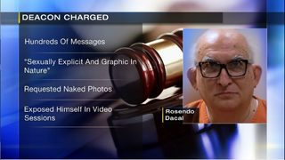 Former deacon faces charges of inappropriate online contact with child