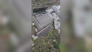 Headstones ripped from ground at Pittsburgh cemetery