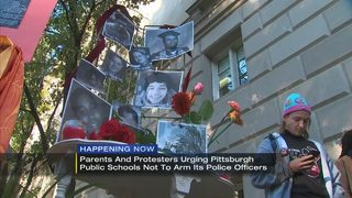 Parents urge Pittsburgh Public Schools not to arm its police force