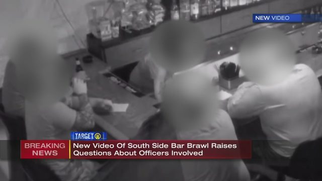 SOUTH SIDE BAR FIGHT: New video shows police, Pagans Motorcycle Club