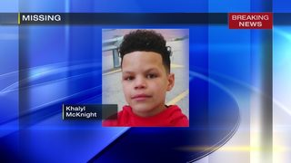 Police searching for missing 12-year-old boy