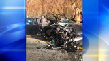 Several hospitalized after wrong-way crash shuts down Route 28 for hours