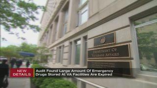 Drug stockpiles at VA facilities don