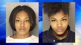 Delaya Knuckles (left) and Delaysha Pryor (right) Photo courtesy: Allegheny County Police