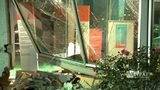 RAW VIDEO: Sendell Motors building hit by truck