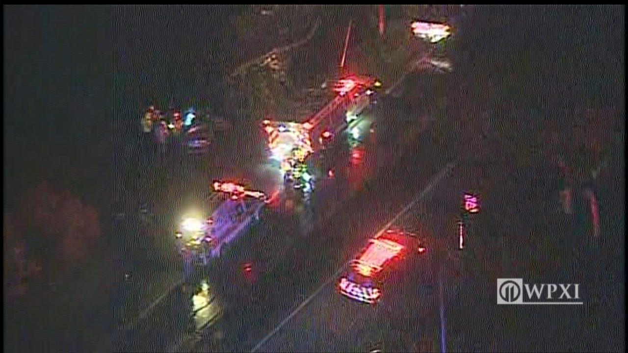 1 killed, 2 hurt in Washington County crash | WPXI