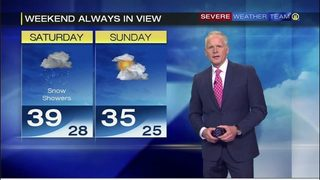 Snow in the forecast for this weekend (11/12/18)