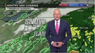 Snow could make morning commute slippery (11/12/18)