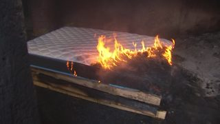 Will your mattress hold up in a fire?