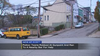 Business increases security after teens robbed at gunpoint