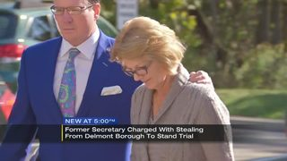 Former secretary accused of stealing from borough to stand trial