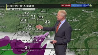Icy forecast for Wednesday morning