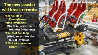 VIDEO Kennywood unveils Steel Curtain cars