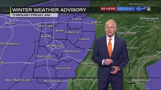 Winter weather advisory for most of the region