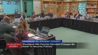 Woodland Hills parents demand changes be made to security policies