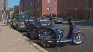 How much is the city getting paid to use public parking spots for Scoobi Scooters?
