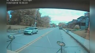 WATCH: SUV captured on video plowing past stopped school bus in Bridgeville
