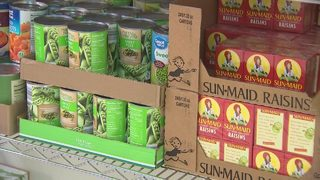 Food pantry using Amazon to make it easier for people to donate