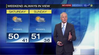 Mild weekend after cold Thanksgiving