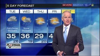 Coldest day of season so far expected on Thanksgiving