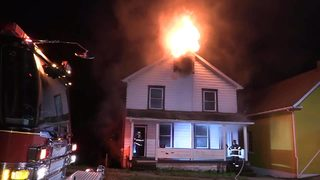 RAW VIDEO: House fire in New Castle considered suspicious