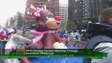 The 38th annual WPXI Holiday Parade marched through the rainy Pittsburgh streets