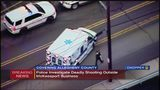 Man fatally shot outside McKeesport body shop