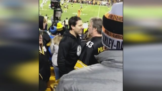 STEELERS FAN FIGHT  Violent confrontation between Pittsburgh ... 3a90cba7c