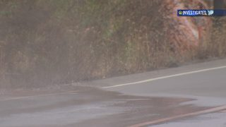 Drivers raise safety concerns over flooding on Route 837