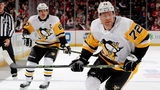 NEWARK, NEW JERSEY - NOVEMBER 13: Patric Hornqvist #72 of the Pittsburgh Penguins skates against the New Jersey Devils at Prudential Center on November 13, 2018 in Newark, New Jersey.