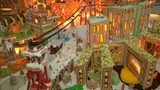 VIDEO: Edible gingerbread city of the future
