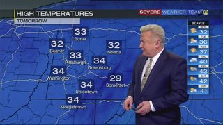 Cold temps stick around as sun returns to Pittsburgh