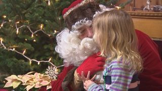 Children with food allergies get chance to eat and meet Santa without worry