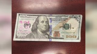 Counterfeit $100 passed at local Sheetz