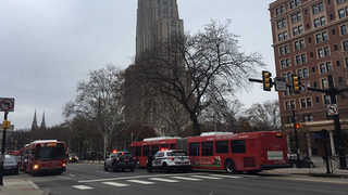 College student hit by PAT bus in Oakland