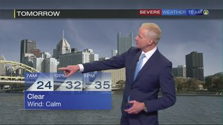 Fast-moving system will bring mix of rain, snow showers Wednesday