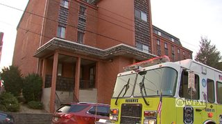 RAW VIDEO: Apartment fire in Millvale