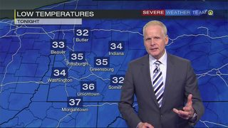 Weak system bringing light rain, snow showers could cause icy spots