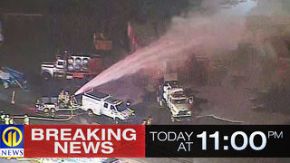 RAW VIDEO: Fire at Washington Co. gas plant
