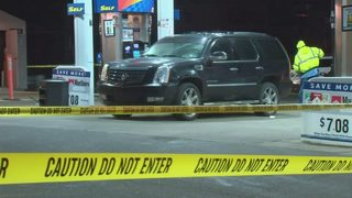 2 dead after shooting outside gas station; persons of interest in custody