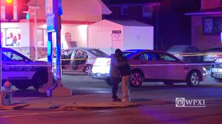 RAW VIDEO: Two killed in gas station shooting