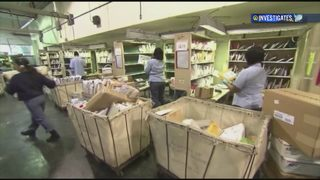Residents in several communities report problems with mail delivery